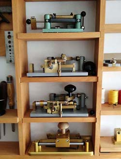 Machines for making bassoon reeds
